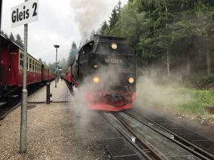 Harzer Schmalspurbahn (HSB) Bahnhof Schierke