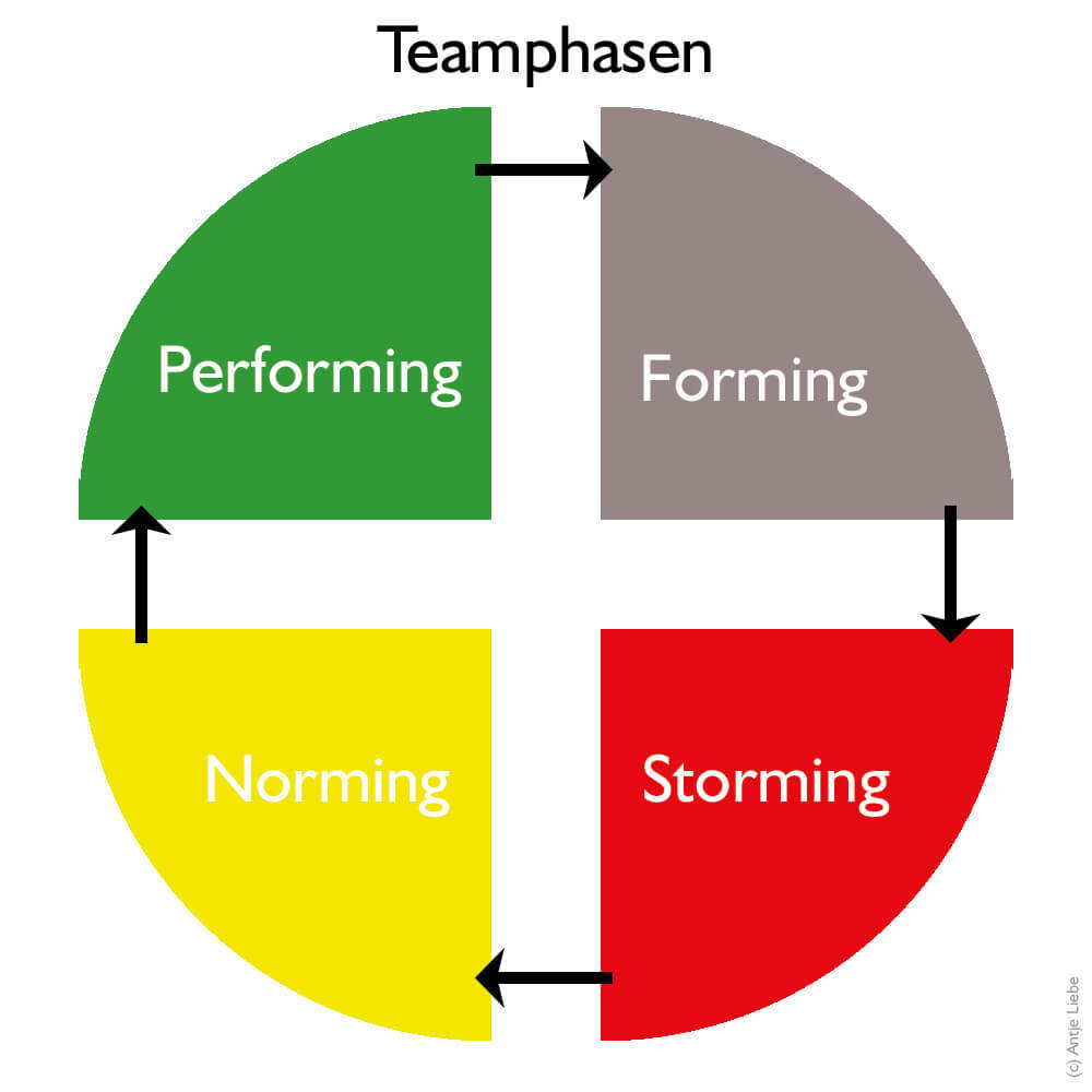 Teamphasen